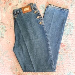 Lawman | Vintage High Waisted Western Mom Jeans